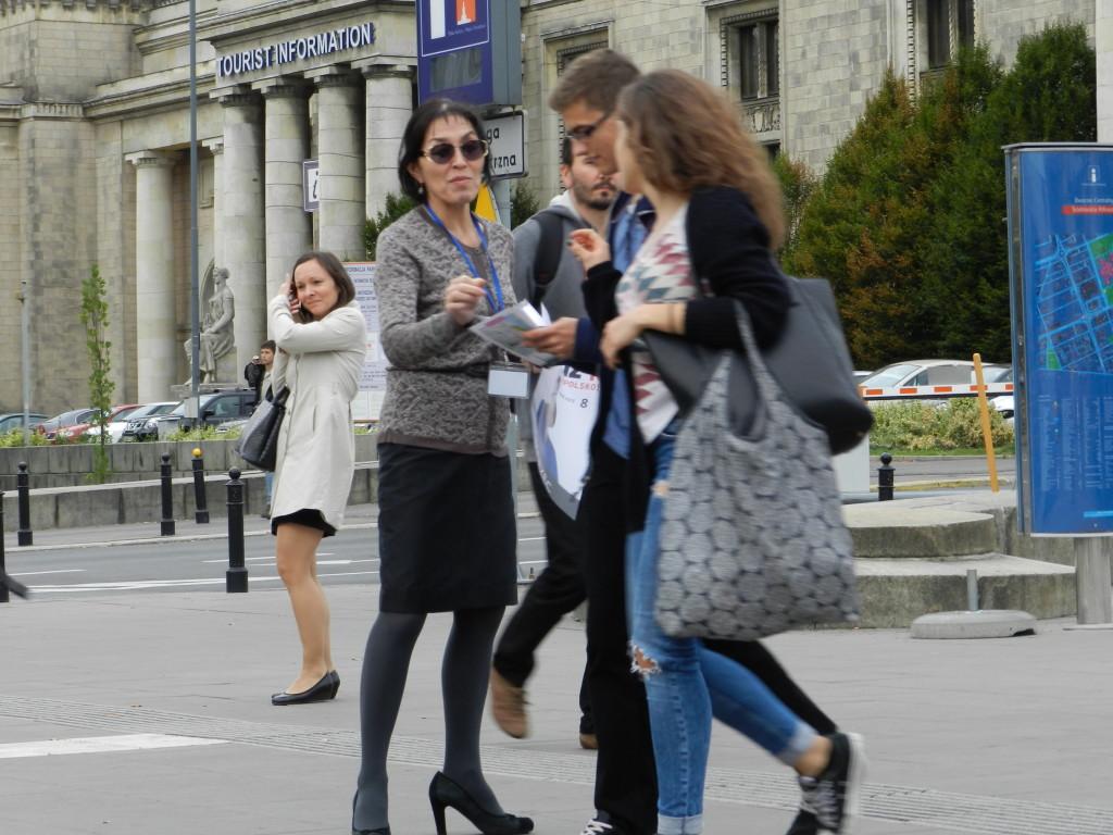 Balli Marzec z listy Kukiz 15 do Sejmu RP przedstawia się wyborcom Warszawy