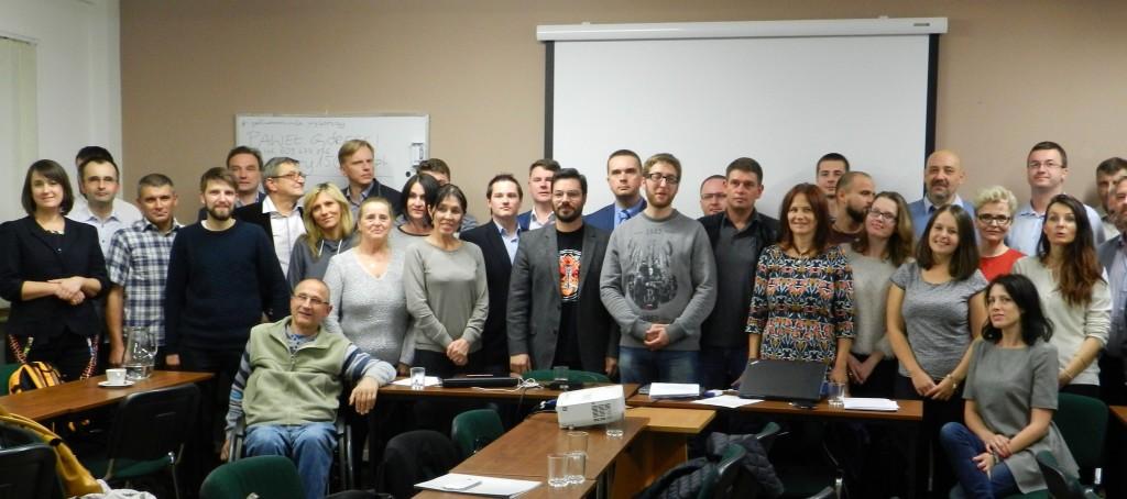 Kandydaci do Sejmu listy KWW Kukiz'15 z Warszawy. Balli Marzec
