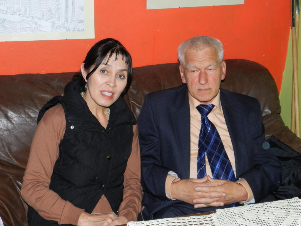 Kornel Morawiecki i Balli Marzec w Retro Praga