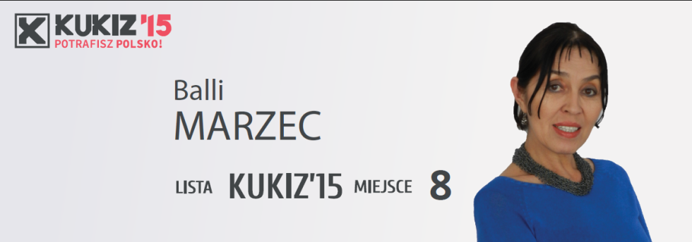 Balli Marzec kandydat KWW KUKIZ'15 do Sejmu RP
