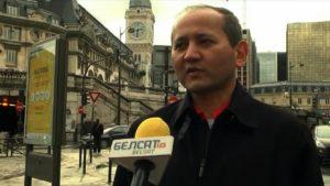 Oszust promowany przez TV Biełsat