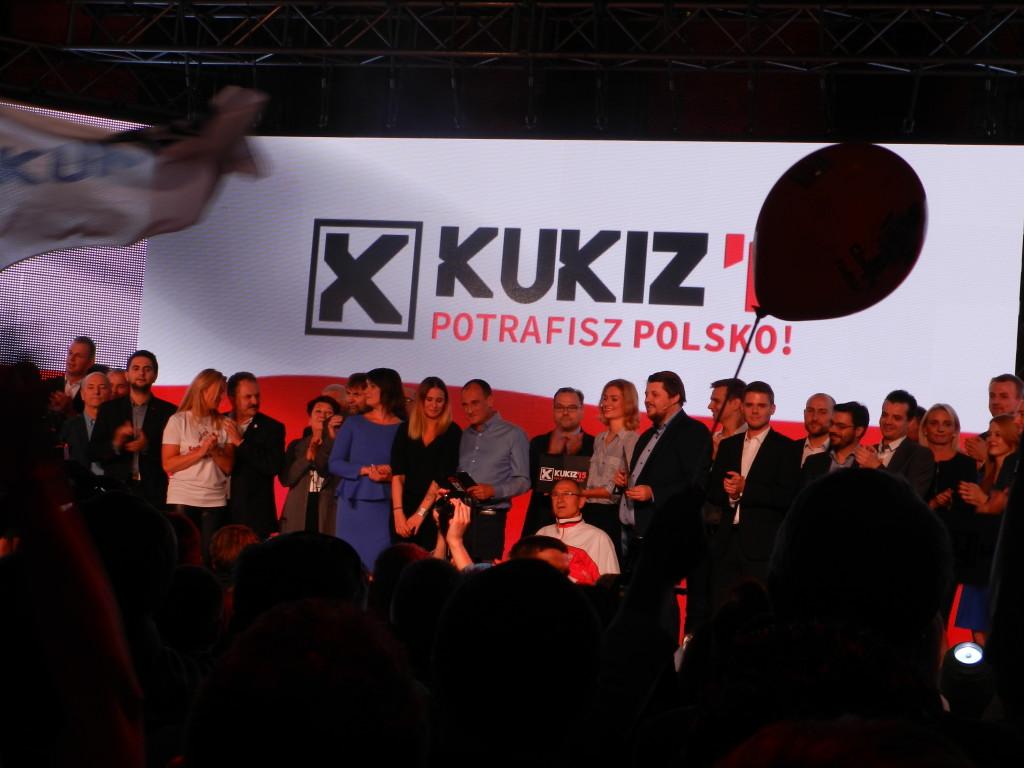 Konwencja Kukiz 15 Warszawa. Balli Marzec