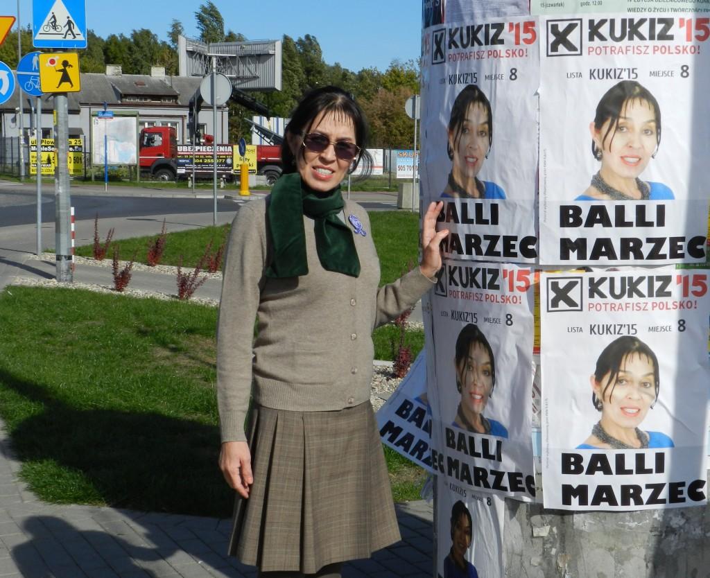 Balli Marzec - zaczęliśmy rozklejać plakaty