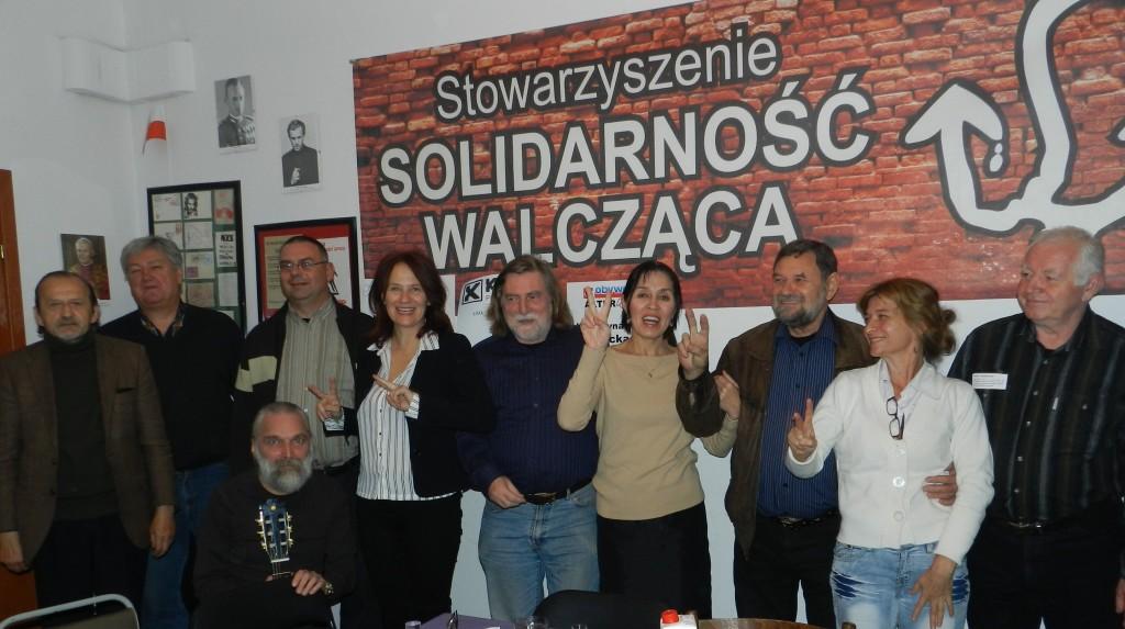Solidarność Walcząca wspiera Kandydatkę do Sejmu Balli Marzec KWW Kukiz 15.
